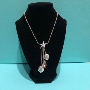 Authentic Tiffany & Co. Seas Shell Drop Necklace